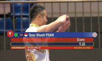 Nhật kí SEA Games 30: Quốc Khánh giành huy chương vàng cho wushu Việt Nam