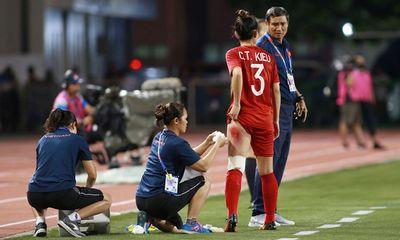 Cầu thủ bị chảy máu đùi trong trận chung kết Việt Nam - Thái Lan được thưởng 50 triệu đồng