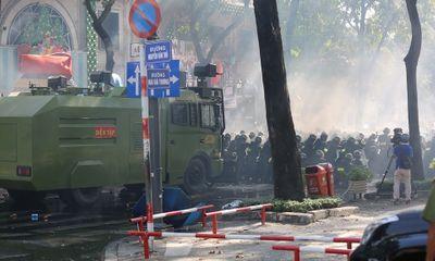Lực lượng hùng hậu hơn 4.000 người tham gia diễn tập chống khủng bố ở TP.HCM