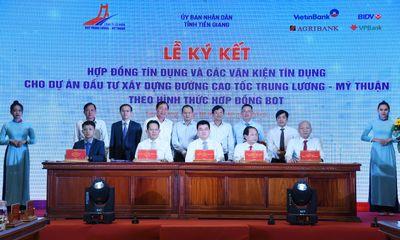 Thúc đẩy dòng vốn cho dự án BOT cao tốc Trung Lương - Mỹ Thuận