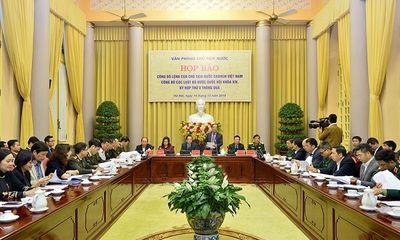 11 Luật được Quốc hội khóa XIV, kỳ họp thứ 8 thông qua