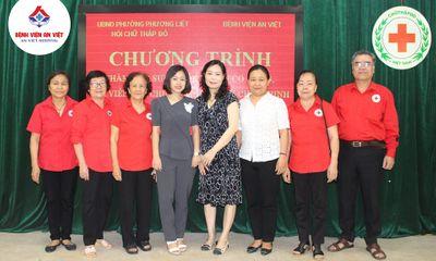 Y tế sức khỏe - Bệnh viện đa khoa An Việt khám, cấp thuốc miễn phí tại phường Phương Liệt