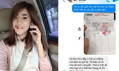 Vợ ở cữ lên mạng tố chồng lừa tiền tiết kiệm gửi cho gái
