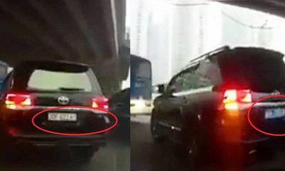 Cục CSGT chỉ đạo xử lý nghiêm xe biển số giả, xe lật biển số