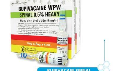 Cục Quản lý Dược yêu cầu khẩn trương rà soát thuốc gây tê chứa bupivacaine