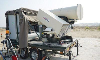 Israel bất ngờ ra mắt hệ thống laser đốt cháy mọi mối đe dọa từ trên không
