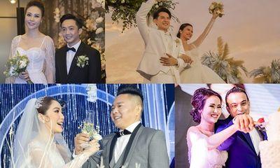 Loạt sao Việt tổ chức đám cưới trong năm 2019