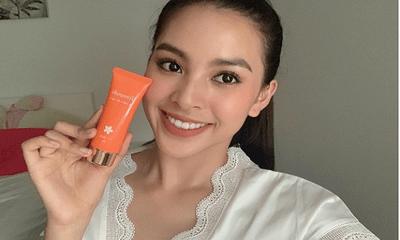 'Vũ khí bí mật' giúp Hoa hậu Tiểu Vy sở hữu làn da đẹp không tỳ vết