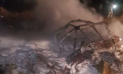 Điều tra nguyên nhân máy bay quân sự An-12 rơi ở Sudan, 18 người chết