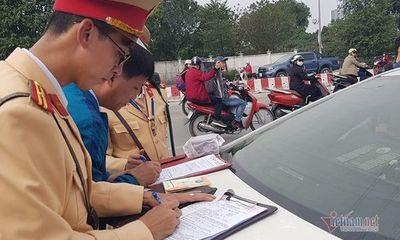 Hà Nội: Tài xế bị phạt gần 40 triệu, tước GPLX 23 tháng sau bữa nhậu trong đám hỏi