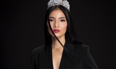 Trương Thị May đón năm mới bằng bộ ảnh sắc đen huyền bí
