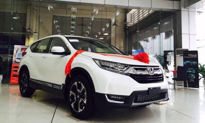 Honda CR-V tiếp tục giảm mạnh dịp cận tết