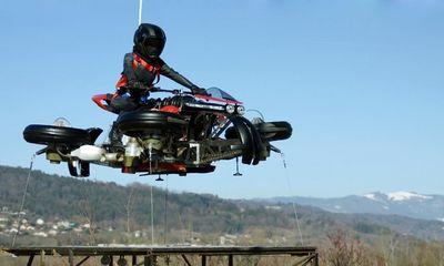 Mẫu môtô bay đầu tiên trên thế giới chuẩn bị được mở bán