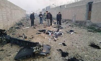 Công bố nguyên nhân thảm kịch máy bay rơi ở Iran khiến 176 người chết
