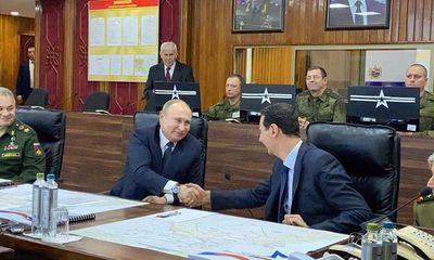 Tin tức quân sự mới nóng nhất ngày 8/1: Tổng thống Putin bất ngờ xuất hiện tại Syria giữa lúc Trung Đông