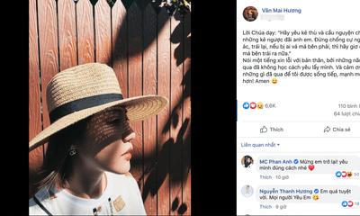 Động thái bất ngờ của Văn Mai Hương sau ồn ào lộ clip nóng
