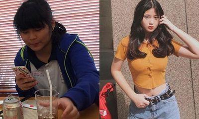 Bị chê béo và quê mùa, thiếu nữ 10X giảm liền 10 cân, lột xác xinh như gái Hàn Quốc