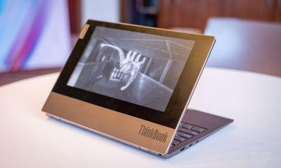 Tin tức công nghệ mới nóng nhất hôm nay 10/1: Lenovo ThinkBook Plus ra laptop 2 màn hình, pin chạy 10 tiếng