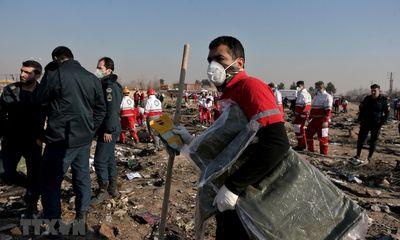 Vụ bắn nhầm máy bay khiến 176 người thiệt mạng: Iran và Ukraine nhất trí cùng giải mã hộp đen