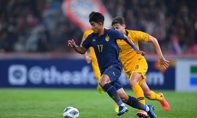 Thảm bại trước U23 Australia, U23 Thái Lan mất ngôi đầu bảng