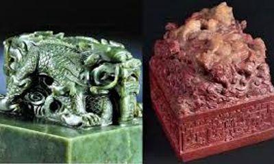 Video: Mục sở thị cặp ngọc tỷ quý hiếm tuổi thọ hơn 300 năm của vua Càn Long