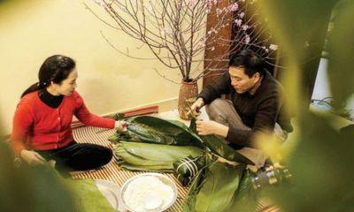 """NSND Lan Hương: """"Tôi thích Tết cổ truyền và muốn tự tay gói, luộc bánh chưng""""!"""