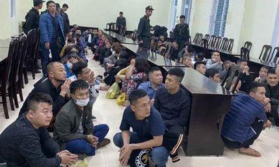 Nghệ An: Khởi tố vụ triệt xóa sới bạc khủng bên bờ sông Lam, bắt 100 đối tượng về quy án