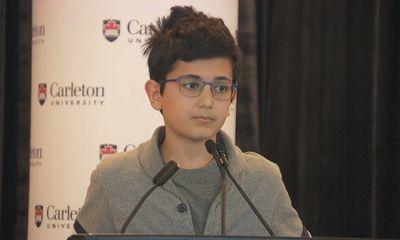 Bài phát biểu thắt lòng của cậu bé 13 tuổi mất cha trong thảm kịch máy bay Ukraine bị bắn nhầm
