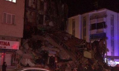 Thông tin mới nhất vụ động đất làm rung chuyển Thổ Nhĩ Kỳ
