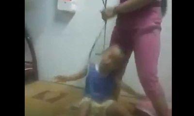 Người mẹ buộc dây vào cổ, đánh con dã man từng bị phạt hành chính vì bạo hành trẻ em