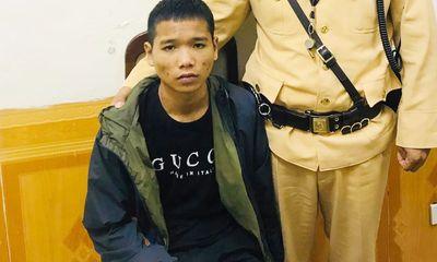 Thiếu tá CSGT chạy bộ bắt kẻ trộm xe máy ở Hà Nội