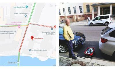 """Người đàn ông """"troll"""" google maps bằng cách kéo lê 99 chiếc smartphone ra đường để giả kẹt xe"""