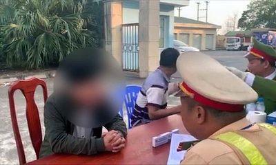 Phát hiện tài xế ô tô dương tính với ma túy trên cao tốc Nội Bài- Lào Cai