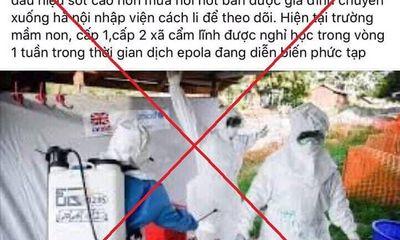 Hà Nội: Tung tin đồn về dịch