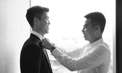 Sau đám cưới, Duy Mạnh gửi lời cảm ơn