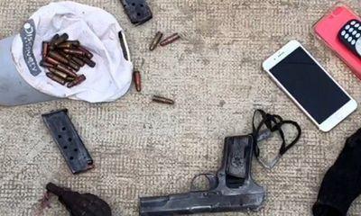 Khởi tố đối tượng cướp xe máy, dùng súng bắn trả công an ở TP.HCM