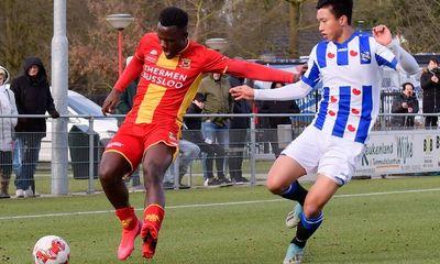 Dứt điểm kém, đội bóng của Văn Hậu gục ngã ở cúp quốc gia Hà Lan