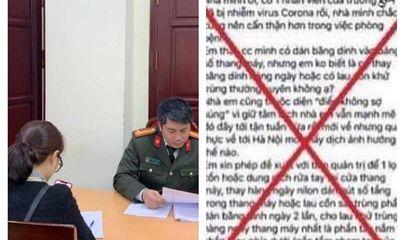 Tung tin đồn về dịch Covid-19, người phụ nữ ở Hà Nội bị phạt 10 triệu đồng
