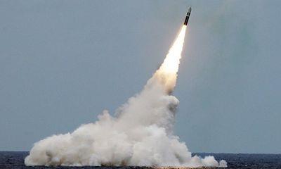 Mỹ phóng thử thành công tên lửa Trident II có khả năng mang đầu đạn hạt nhân