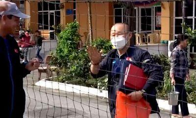 Tin tức thể thao mới nhất ngày 25/2/2020: Ông Park cổ vũ tinh thần thầy trò HLV Mai Đức Chung