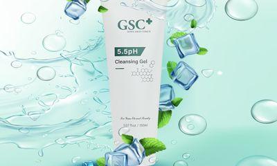 GSC+ ra mắt sản phẩm mới: Sữa rửa mặt dành cho da nhạy cảm 5.5 PH