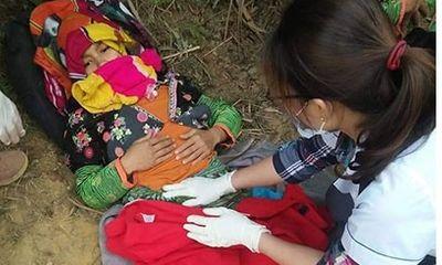 Vượt 20km đường rừng, cán bộ y tế xã cấp cứu sản phụ vỡ ối giữa đường