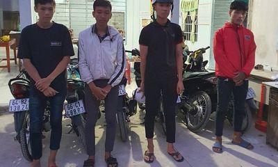 """Tiền Giang: Phục kích bắt 16 """"quái xế"""" chuẩn bị đua xe gần cầu Mỹ Thuận"""