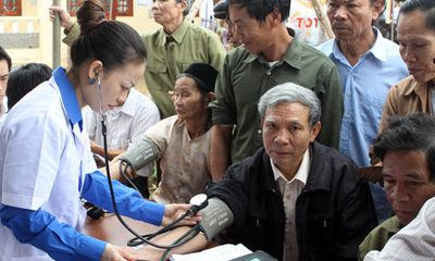 Y tế sức khỏe - Hiện thực hóa mục tiêu mục tiêu bao phủ chăm sóc sức khỏe, BHYT toàn dân