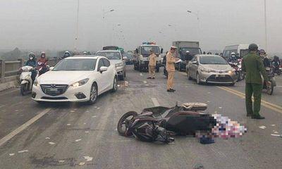 Hà Nội: Truy xuất camera, xác định nguyên nhân người đàn ông tử vong trên cầu Vĩnh Tuy