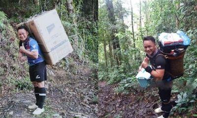 Cảm động việc thầy giáo trường làng miệt mài băng rừng 8 tiếng mang tủ lạnh cho học sinh