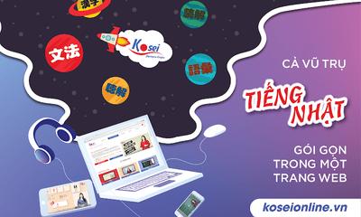 Trung tâm tiếng Nhật Kosei - Địa chỉ Học tiếng Nhật online hàng đầu tại Việt Nam