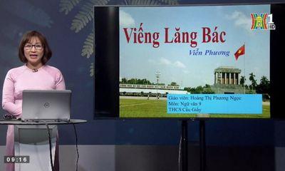 Hà Nội: Yêu cầu giáo viên sát sao với việc học online của học sinh