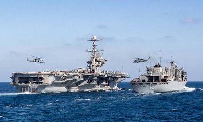 Tin tức quân sự mới nóng nhất ngày 14/3: Lầu Năm Góc tuyên bố duy trì hai biệt đội tàu sân bay ở Vùng Vịnh