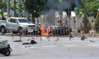 Thái Lan: 25 người bị thương sau hai vụ nổ bom liên tiếp